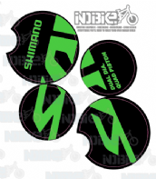 Shimano Saint M820 Brake Caliper Stickers